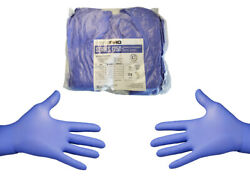200 Count✔ Purple Blue Nitrile Gloves PF Large $29.95