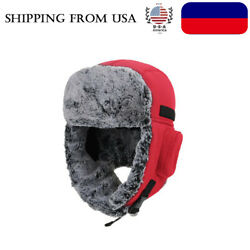 Outdoor Cycling Cold Proof Ear Warm Cap Thickened Ear Winter Warmer Hat Unisex $11.10