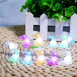 Rabbit Modeling 3M 5 Colors Decorative Lights Solid Color Rabbits Easter Product