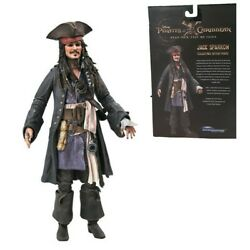 Pirates of the Carribean Jack Sparrow Diamond Select Deluxe Action Figure $34.95