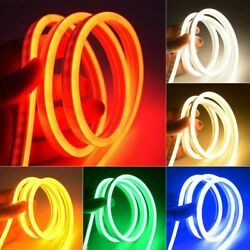 12V Flexible LED Strip Waterproof Sign Neon Lights Silicone Tube 1M 2M 3M 5M USA $19.99