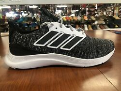 Men#x27;s Adidas Energy falcon Running Shoes Sneakers Black White EH1538 Size 11 $59.00