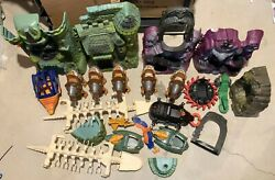 MOTU masters of the universe vehicles castle grayskull lot He man vintage parts $99.95