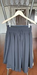Lululemon Lot Of 2 Skirts Size 6 Green And Black $59.00