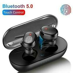 TWS Bluetooth 5.0 Wireless Earphones Stereo Headset Mini In Ear For iOS Android $9.89