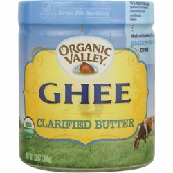 Organic Valley Ghee Clarified Butter 13 oz Solid Oil $21.49