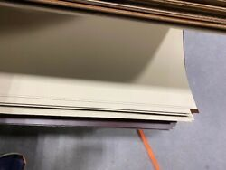 4X8#x27; Laminate Formica or Wilsonart Closeout Antique White 3 pack $34.95