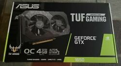 🔥BRAND NEW ASUS TUF Gaming GeForce 1650 4GB GDDR6 PCI Express 3.0 Graphics Card $398.87