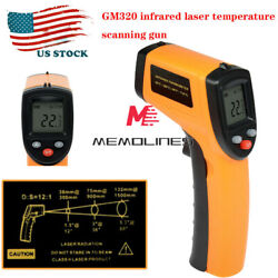 Helect Infrared Thermometer Non contact Digital Laser Infrared Temperature Gun $14.68