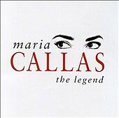 MARIA CALLAS THE LEGEND CD $3.00