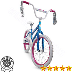 Huffy 20 inch Sea Star Girls Bike Blue And Pink 5 9 Years Durable Steel Rims $69.99