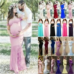 Pregnant Womens Maternity Maxi Dress Pregnancy Photography Prop Party Dresses US $26.59