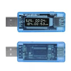 USB meter tester current voltage capacity voltage detect charger $10.67