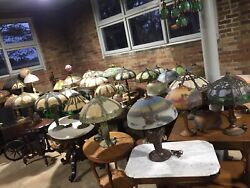 ANTIQUE LAMP COLLECTION 40pcs Pierpoint Jefferson Bradley Hubbard ONCE LIFETIME $30000.00