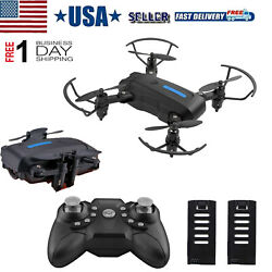 Mini FPV Drone Foldable Drone RC Quadcopter Toy Gift For Child Beginner $29.99