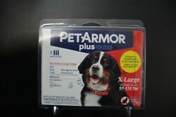 Pet Armor Plus for Extra Large Dogs 89 132 lbs 3 Applications $13.99