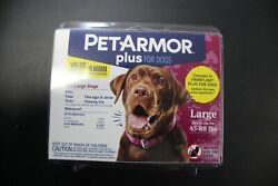 Pet Armor Plus for Large Dogs 45 88 lbs 6 Applications $27.95