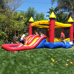 Inflatable Bounce House with Slide Castle 100% Vinyl with Blower $525.00