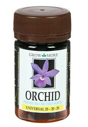 Fertilizer for Orchids Grow More Orchid Universal 20 20 20 yellow 25 g $17.99