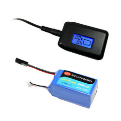 LiPo Battery 2600mAh LCD Charger CAPACITY For PARROT AR.DRONE 2.0 amp; 1.0 11.1V $61.98