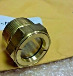 Sight Glass Easy to See Clear Style Maximum visibility 3 8quot;NPT 415 psi $14.95