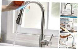 Touch Kitchen Faucets with Pull Down Sprayer Automatic Kitchen Brushed Nickel $118.47