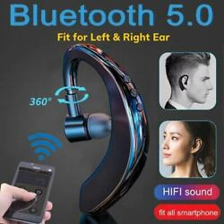 Wireless Bluetooth Handsfree Earphone Earhook Headset For iPhone Samsung Android $10.99