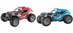 Power Craze Shift 24 Mini RC High Speed Buggy RED Blue Used Tested $19.99