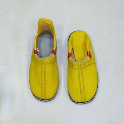 Kids Moroccan Traditional Natural Babouche Leather Handmade Boys Slipper Baby $39.00
