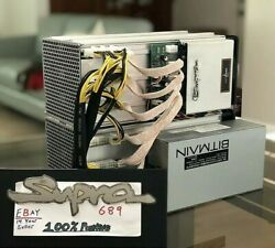 Antminer S9D S9 Dual Custom tuned to 🔥32TH s @ 2500w🔥 Gigabyte PSU included $2500.00