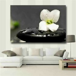 Zen Wall Art Floral Picture Poster and Printing Wall Pictures for Living Room $16.80