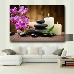 Zen Wall Art Floral Picture Poster and Printing Wall Pictures for Living Room 16 $16.80