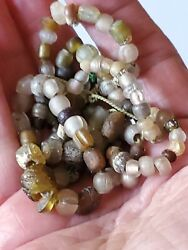 Vintage Antique of blown old glass trade beads $125.00