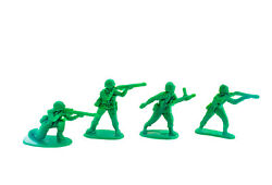 50 Piece WWII Plastic Army Men Pack $9.99