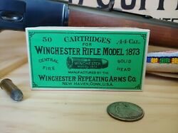 Reproduction vintage Winchester .44 40 .44 WCF Cartridge Box $14.95