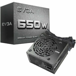 EVGA 650W Non Modular Power Supply 100 N1 0650 L1 $49.99