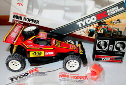 Open Box Tested Tyco RC MINI HOPPER R C Dune Buggy RC Car Remote non working $245.00