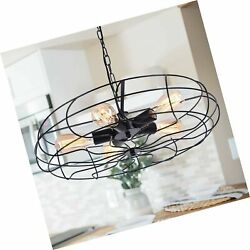 OYIPRO Rustic Chandeliers Farmhouse Industrial Hanging Pendant Light 5 Light... $155.99