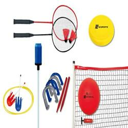 Backyard Game Combo Set 6 in 1 Outdoor Games for all Tiime $33.03
