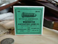 Reproduction vintage Winchester.56 50 Spencer Cartridge Box $14.95