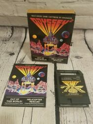 TESTED OUT OF THIS WORLD HELICOPTER RESCUE Game amp; Manual Odyssey 2 1979 $19.95
