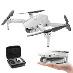 S161 RC Foldable Drone 4K Camera Optical Flow with Dual Camera Follow Me Feature $69.99