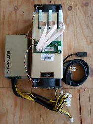 AntMiner S9 13.5TH ASIC Bitcoin Miner w BRAINS OS firmware and Power Supply  $649.99