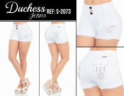 DUCHESS SKIRT SHORT COLOMBIANOS COLOMBIAN PUSH UP JEANS LEVANTA COLA $59.99