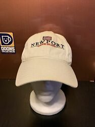 Newport Rhode Island Hat. Cuffy's of Cape Cod hat. Adjustable Strap Hat. $19.88