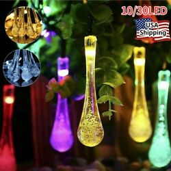 30LED String Light Solar Powered Garden Patio Yard Landscape Lamp Party HOT SALE $9.68