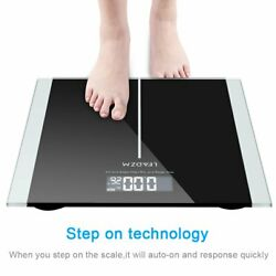 Floor Weight Scale Bathroom Body Fat LCD Charging Glass Smart Electronic Digital $22.29