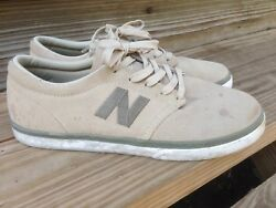 New Balance # Numeric quot;Brighton 345quot; Sneakers pebble gr Mens Skating Shoes 8.5 $24.99