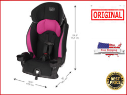 Evenflo Booster Car Seat Chase Lx Harnessed Jayden Pink BRAND NEW $61.99