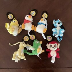 Neopets Pet For Your Pet Macdonalds Happy Meal Toy Keychain Mini Plush Lot Of 7 $36.99